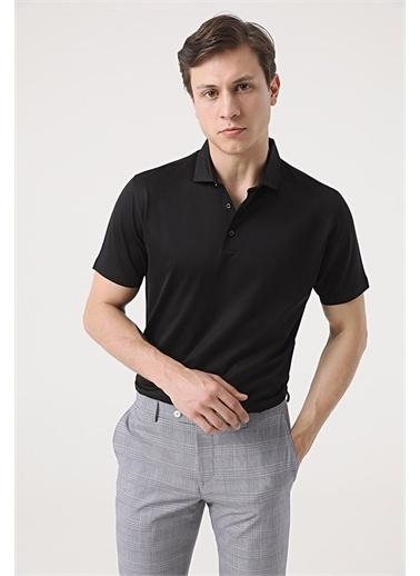 Damat Damat Gri T-Shirt Siyah
